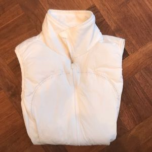 Lululemon Athletica White Vest